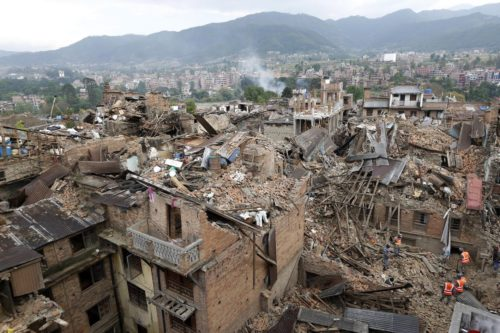 nepal earthquakes